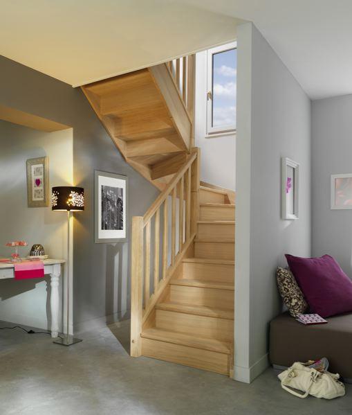 Escaliers En Hévéa